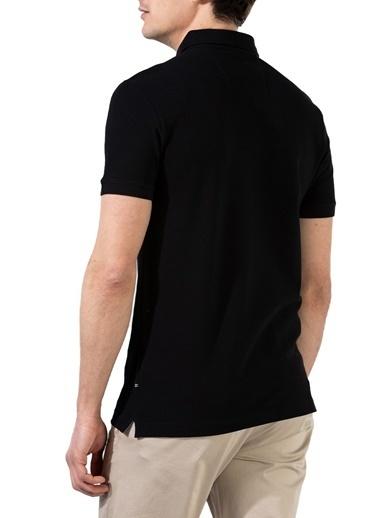 Nautica  Slim Fit Pamuklu Düğmeli Polo T Shirt Erkek Polo K15652T 0Tb Siyah